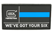 GLOCK OEM WE'VE GOT YOUR SIX PATCH