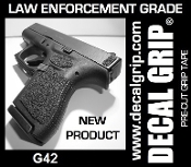 DECAL GRIP FITS G42 RUBBER TEXTURE